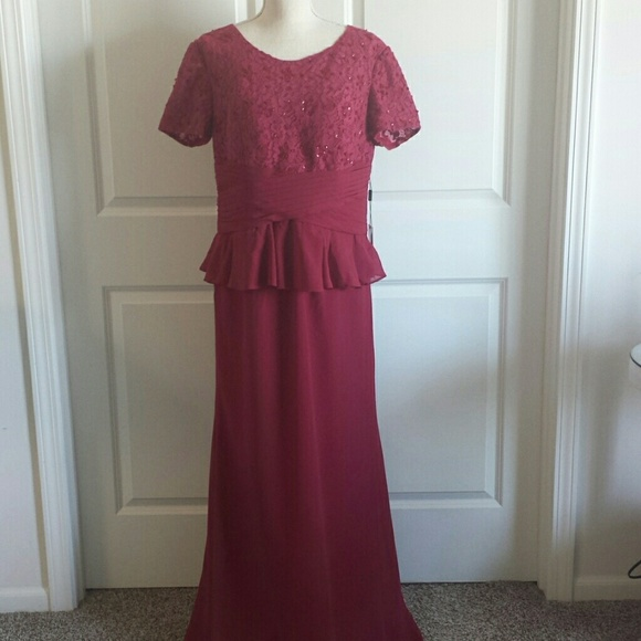8698f30f261 NWT JJ s House bridesmaid  MOB dress size 14